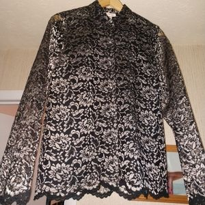 Lace blouse or shell
